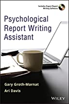 Psychological Report Writing Assistant by…