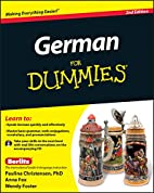 German For Dummies, (with CD) by Paulina…