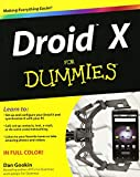 Gookin, Dan: Droid X For Dummies