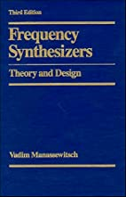 Frequency Synthesizers: Theory and Design by…