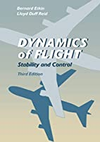 Dynamics of Flight: Stability and Control by…