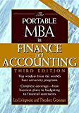 Livingstone, John Leslie: The Portable MBA in Finance and Accounting