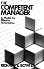 The competent manager : a model for…