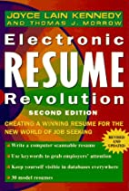 Electronic Resume Revolution: Creating a…