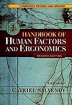 Handbook of Human Factors and Ergonomics by…