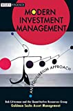 Bob Litterman: Modern Investment Management: An Equilibrium Approach (Wiley Finance)