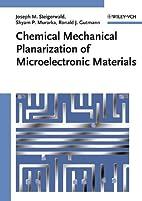 Chemical Mechanical Planarization of…
