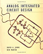Analog Integrated Circuit Design by David…