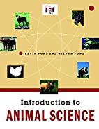 Introduction to Animal Science by Wilson G.…