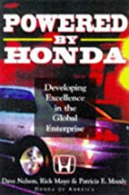 Powered by Honda: Developing Excellence in…