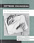 Software Engineering by James F. Peters