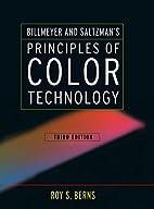 Billmeyer and Saltzman's principles of color…