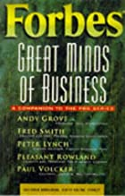 Forbes Great Minds of Business by Forbes…