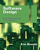 Software Design: From Programming to…