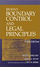 Boundary Control and Legal Principles by…