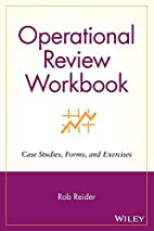 Operational Review Workbook: Case Studies,…