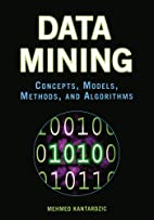 Data Mining: Concepts, Models, Methods, and…