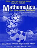 Musser, Gary L.: Mathametics for Elementary Teachers: A Contemporary Approach