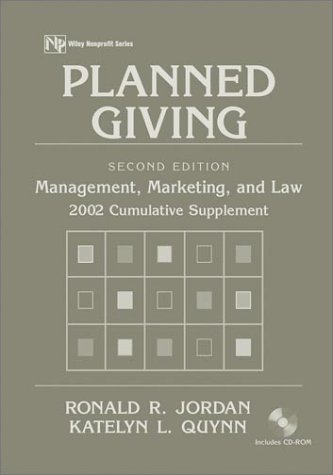 planned-giving-2002-cumulative-supplement-management-marketing-and-law-wiley-nonprofit-law-finance-and-management-series