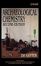 Archaeological Chemistry (Chemical Analysis:…