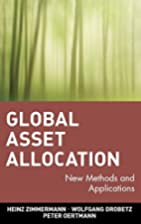 Global Asset Allocation: New Methods and…