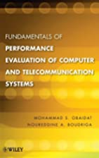 Fundamentals of Performance Evaluation of…