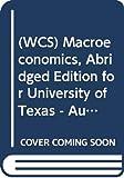 Miles, David: Wcs Macroeconomics