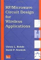 RF/Microwave Circuit Design for Wireless…