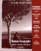 Student Companion to Human Geography by Harm…