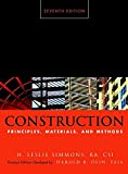 Simmons, H. Leslie: Construction Principles, Materials, and Methods