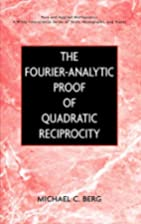 The Fourier-Analytic Proof of Quadratic…