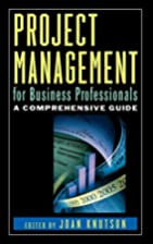 Project Management for Business…