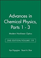 Advances in Chemical Physics, Volume 119:…
