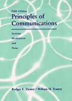 Principles of Communication: Systems,…