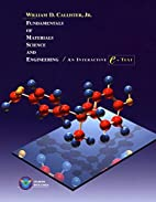 Fundamentals of Materials Science and…