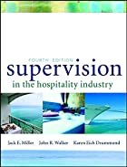 Supervision in the Hospitality Industry by…