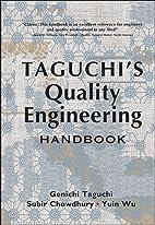 Taguchi's Quality Engineering Handbook by…