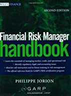 Financial Risk Manager Handbook by Philippe…