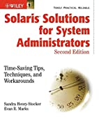 Solaris Solutions for System Administrators:…