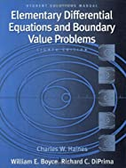 Student Solutions Manual to accompany Boyce…