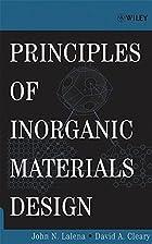Principles of Inorganic Materials Design by…