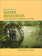Principles of Water Resources: History,…