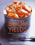 The Book of Yields: Accuracy in Food Costing…