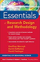 Essentials of Research Design and…