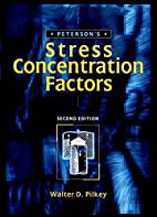 Peterson's stress concentration factors by…