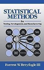Statistical Methods for Testing,…