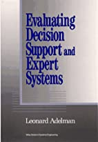 Evaluating Decision Support and Expert…