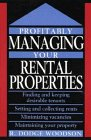 Profitably Managing Your Rental Properties…