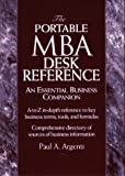 The Portable MBA Desk Reference An Essential Business Companion