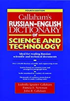 Callaham's Russian-English Dictionary of…